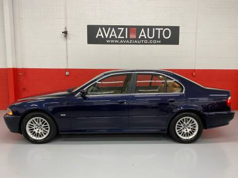 2001 BMW 5 Series for sale at AVAZI AUTO GROUP LLC in Gaithersburg MD