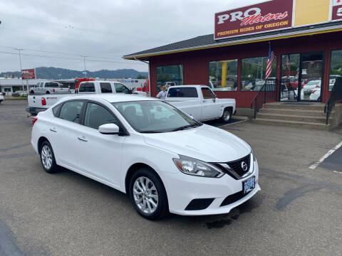 2019 Nissan Sentra for sale at Pro Motors in Roseburg OR