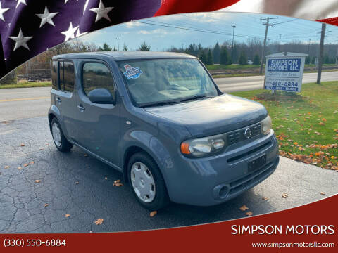 2014 Nissan cube for sale at SIMPSON MOTORS in Youngstown OH