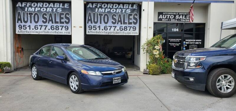 2006 Honda Civic for sale at Affordable Imports Auto Sales in Murrieta CA
