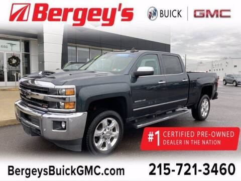2018 Chevrolet Silverado 2500HD for sale at Bergey's Buick GMC in Souderton PA