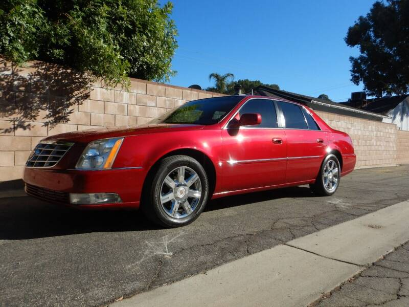 2007 Cadillac DTS for sale at California Cadillac & Collectibles in Los Angeles CA