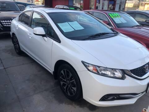 2013 Honda Civic for sale at Excelsior Motors , Inc in San Francisco CA