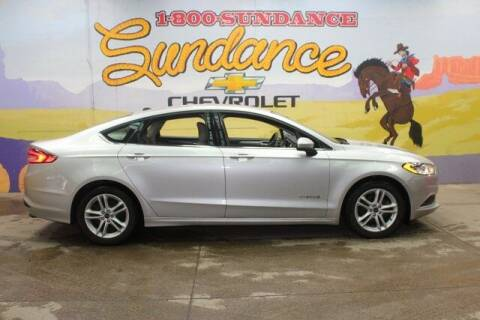 2018 Ford Fusion Hybrid for sale at Sundance Chevrolet in Grand Ledge MI