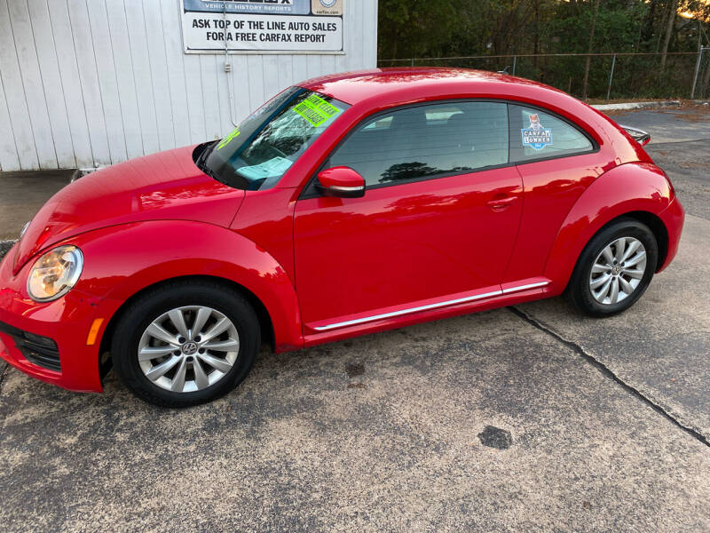 2019 Volkswagen Beetle for sale at TOP OF THE LINE AUTO SALES in Fayetteville NC