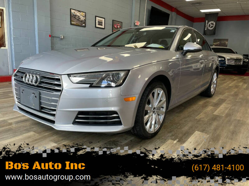 2017 Audi A4 for sale at Bos Auto Inc in Quincy MA