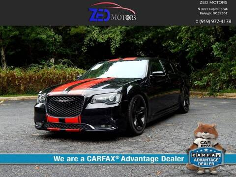 2015 Chrysler 300 for sale at Zed Motors in Raleigh NC