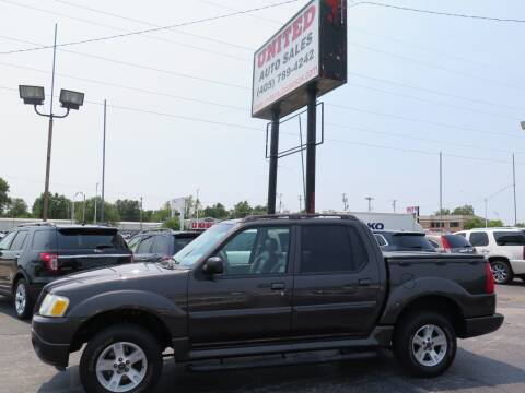 2005 Ford Explorer Sport Trac for sale at United Auto Sales in Oklahoma City OK
