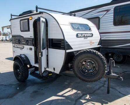 SUNSET PARK RV SUNRAY for sale at GQC AUTO SALES in San Bernardino CA