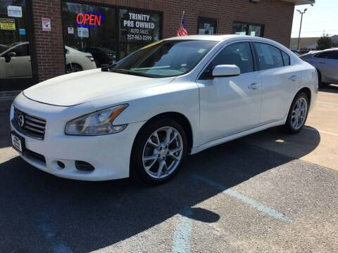 2014 Nissan Maxima for sale at Bankruptcy Car Financing in Norfolk VA