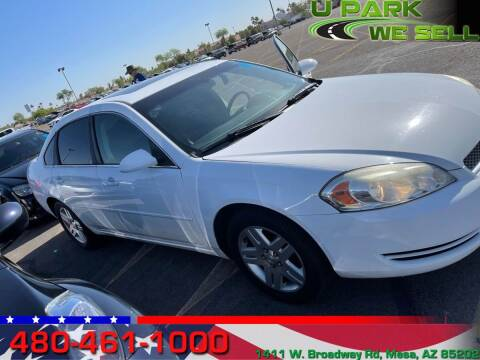 2011 Chevrolet Impala for sale at UPARK WE SELL AZ in Mesa AZ