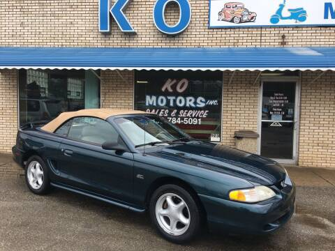 1995 Ford Mustang for sale at K O Motors in Akron OH