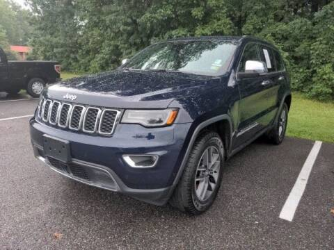 2017 Jeep Grand Cherokee for sale at Strosnider Chevrolet in Hopewell VA