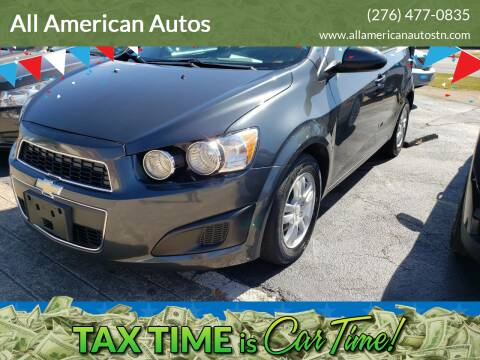 2013 Chevrolet Sonic for sale at All American Autos in Kingsport TN