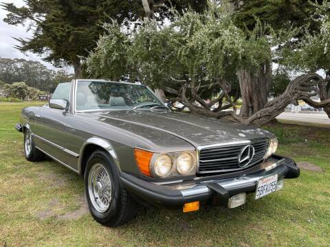 1983 Mercedes-Benz 380-Class for sale at Dodi Auto Sales in Monterey CA