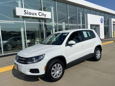 2018 Volkswagen Tiguan Limited for sale at Jensen's Dealerships in Sioux City IA