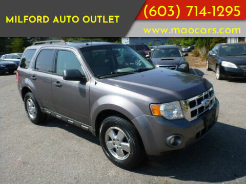 2012 Ford Escape for sale at Milford Auto Outlet in Milford NH