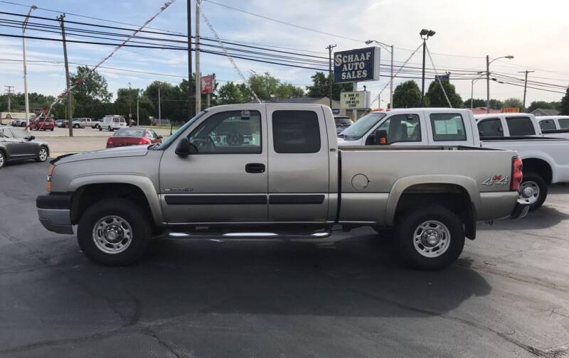 2003 Chevrolet Silverado 2500HD for sale at Larry Schaaf Auto Sales in Saint Marys OH