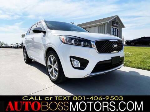 2017 Kia Sorento for sale at Auto Boss in Woodscross UT
