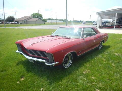 1965 Buick Riviera for sale at Custom Rods and Muscle in Celina OH