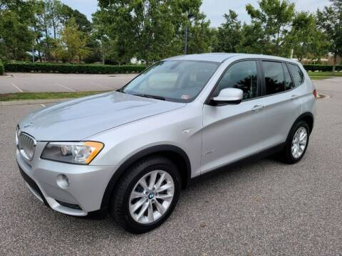 2013 BMW X3 for sale at Auto Expo in Norfolk VA