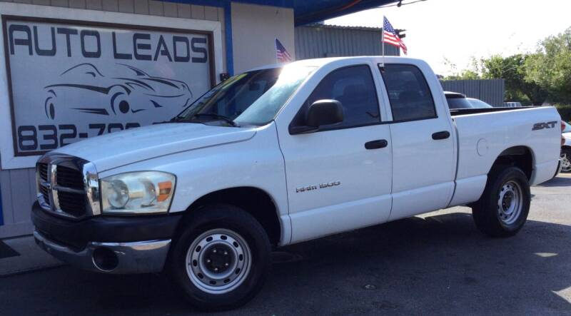 2007 Dodge Ram Pickup 1500 for sale at AUTO LEADS in Pasadena TX