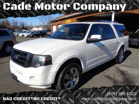 2010 Ford Expedition EL for sale at Cade Motor Company in Lawrenceville NJ