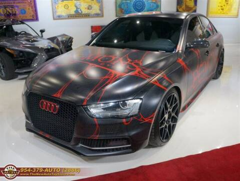 2014 Audi S4 for sale at The New Auto Toy Store in Fort Lauderdale FL