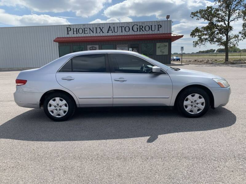 2003 Honda Accord for sale at PHOENIX AUTO GROUP in Belton TX