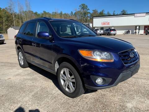 2010 Hyundai Santa Fe for sale at AUTO WOODLANDS in Magnolia TX