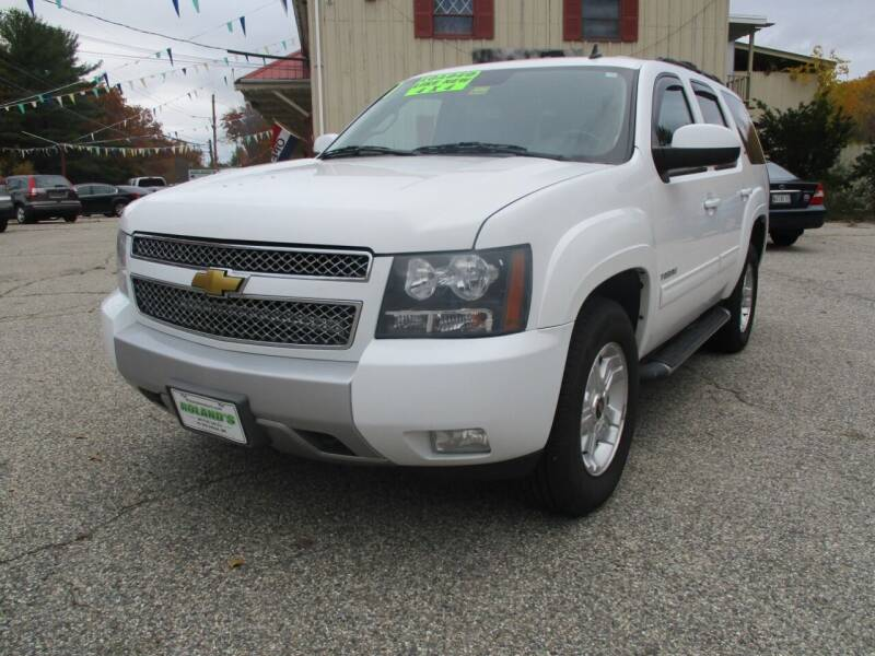 2013 Chevrolet Tahoe for sale at Roland's Motor Sales in Alfred ME