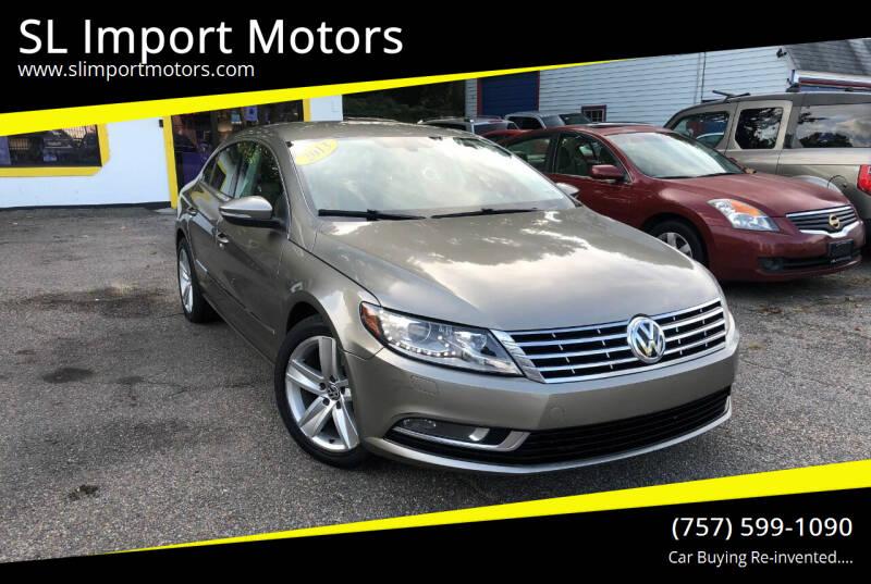 2013 Volkswagen CC for sale at SL Import Motors in Newport News VA