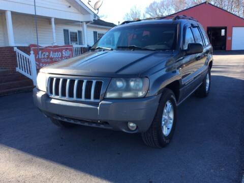 2004 Jeep Grand Cherokee for sale at Ace Auto Sales - $1000 DOWN PAYMENTS in Fyffe AL