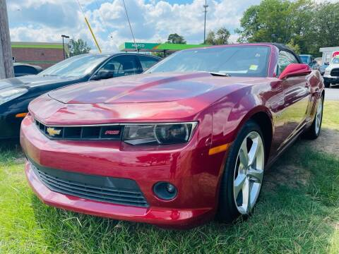 2015 Chevrolet Camaro for sale at BRYANT AUTO SALES in Bryant AR