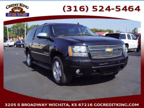 2013 Chevrolet Suburban for sale at Credit King Auto Sales in Wichita KS