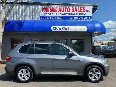 2008 BMW X5 for sale at PORTLAND AUTO SALES LLC. in Portland OR