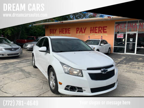 2011 Chevrolet Cruze for sale at DREAM CARS in Stuart FL