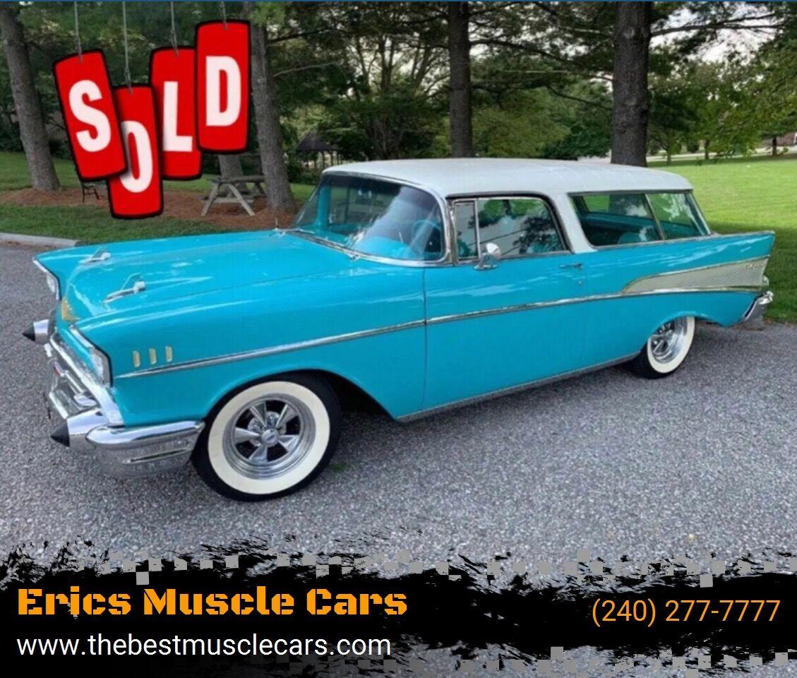 1957 Chevrolet Bel Air Nomad SOLD SOLD SOLD