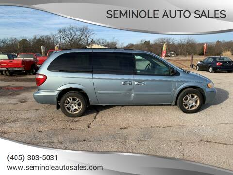 2004 Dodge Grand Caravan for sale at Seminole Auto Sales in Seminole OK