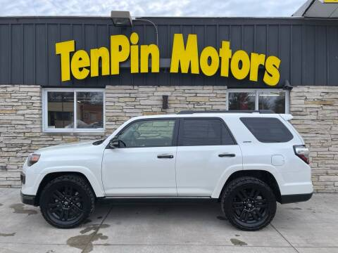 2021 Toyota 4Runner for sale at TenPin Motors LLC in Fort Atkinson WI