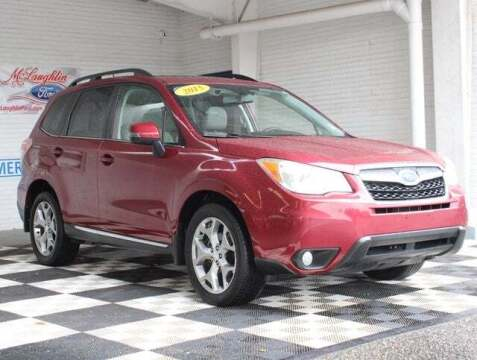 2015 Subaru Forester for sale at McLaughlin Ford in Sumter SC