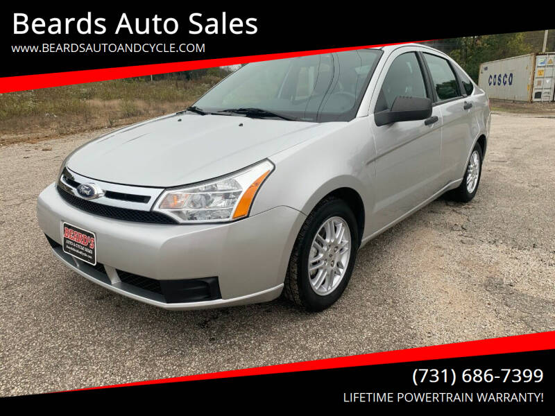 2011 Ford Focus for sale at Beards Auto Sales in Milan TN