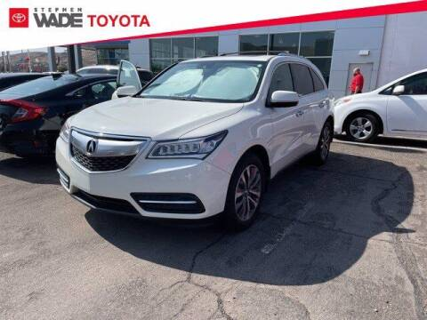 2016 Acura MDX for sale at Stephen Wade Pre-Owned Supercenter in Saint George UT