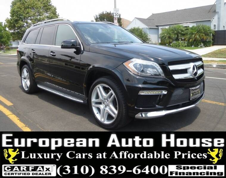 2016 Mercedes-Benz GL-Class for sale at European Auto House in Los Angeles CA
