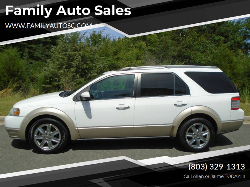 2008 Ford Taurus X for sale at Family Auto Sales in Rock Hill SC