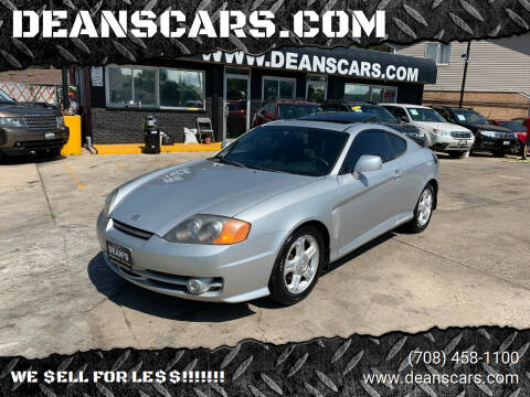 2004 Hyundai Tiburon for sale at DEANSCARS.COM - DEANS BERWYN in Berwyn IL