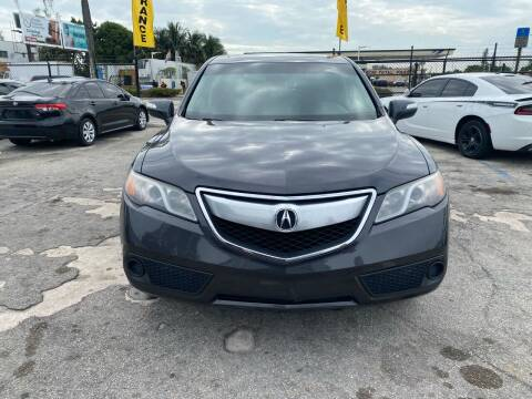2015 Acura RDX for sale at America Auto Wholesale Inc in Miami FL