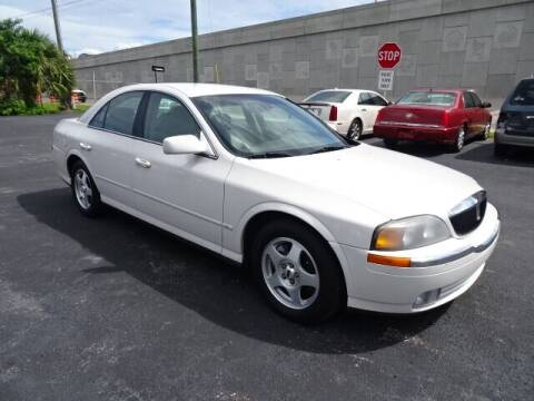 2000 Lincoln LS for sale at DONNY MILLS AUTO SALES in Largo FL