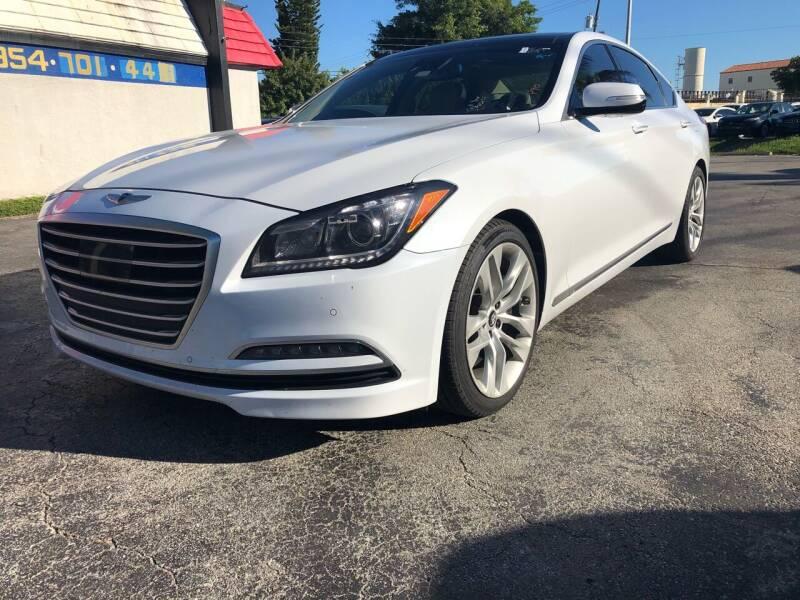 2015 Hyundai Genesis for sale at GTR MOTORS in Hollywood FL