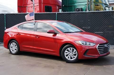 2017 Hyundai Elantra for sale at MATRIX AUTO SALES INC in Miami FL